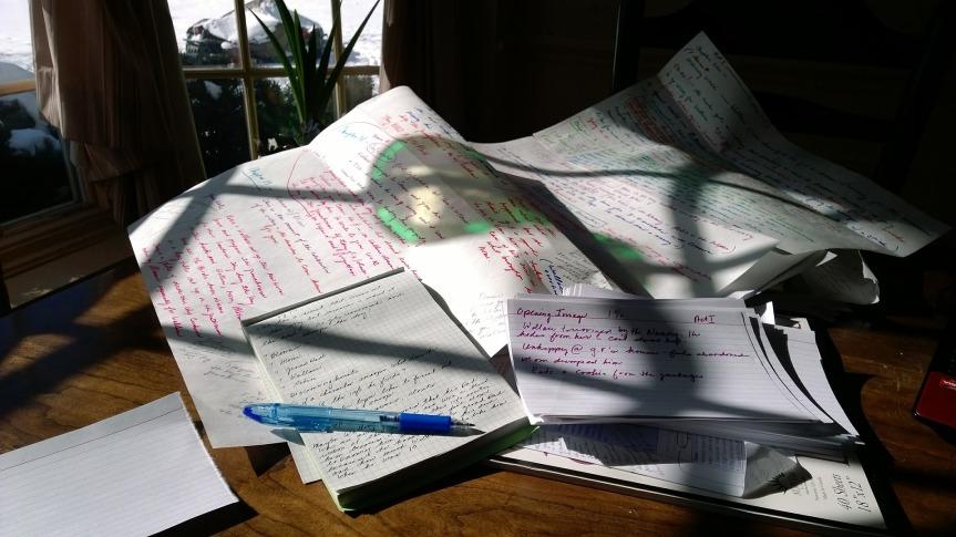 Voyage en écriture créative (2ème partie – 23mars).