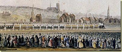 chemin de fer en 1835