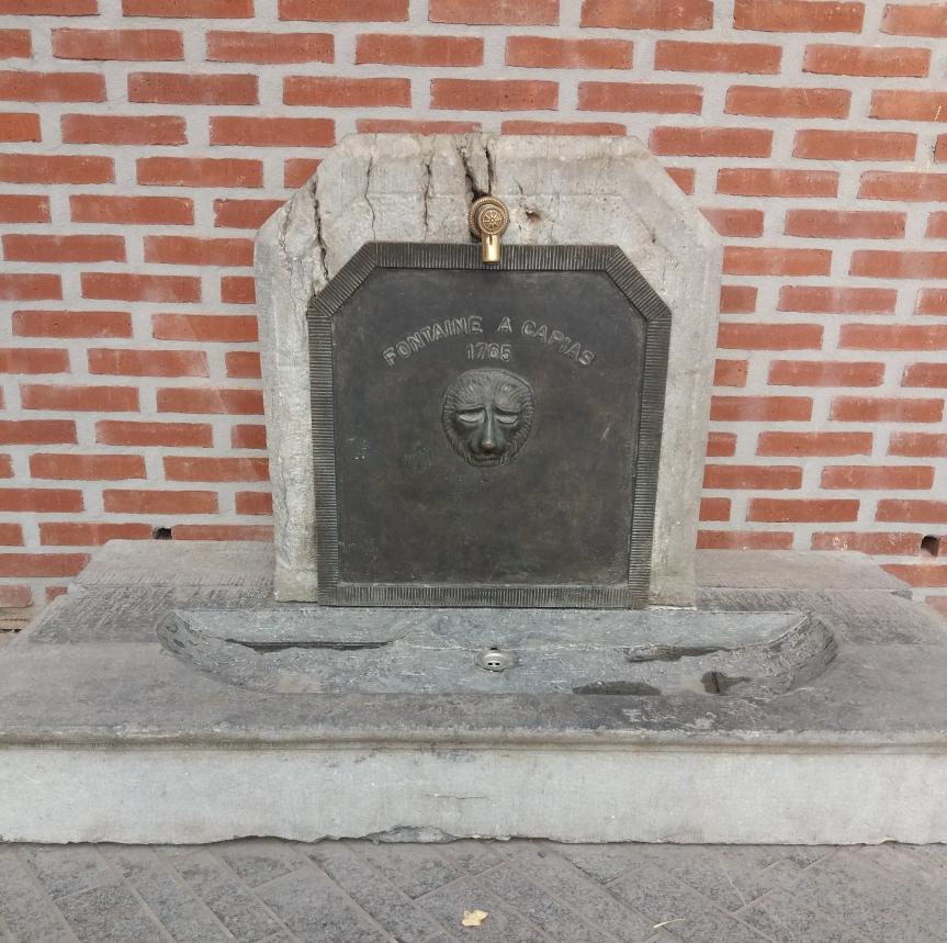 Découverte insolite… La fontaine àCapias