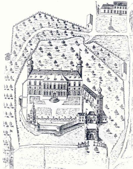 800px-Plan_ancien_du_chateau_de_Trazegnies
