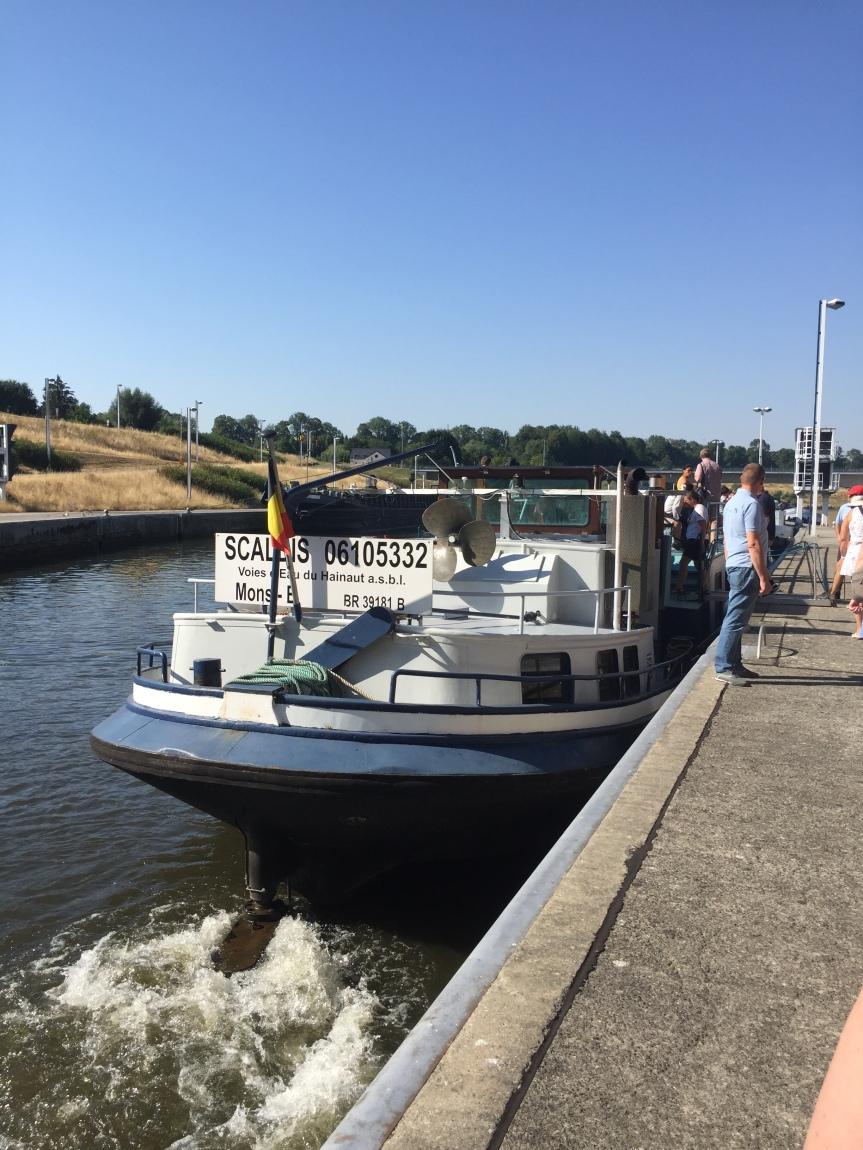Silvain 8 ans : Ma balade sur le Canal duCentre