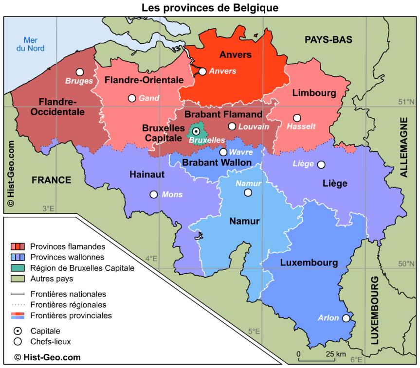 Quelques explications à propos … de la Belgique, un état fédéral etdémocratique