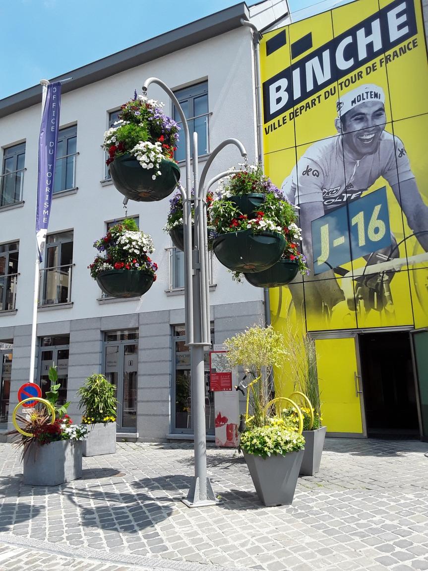 Ca se passe près de chez vous : le Tour de France à Binche!